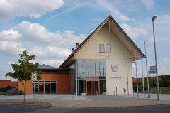 Das Rathaus in Weisendorf.