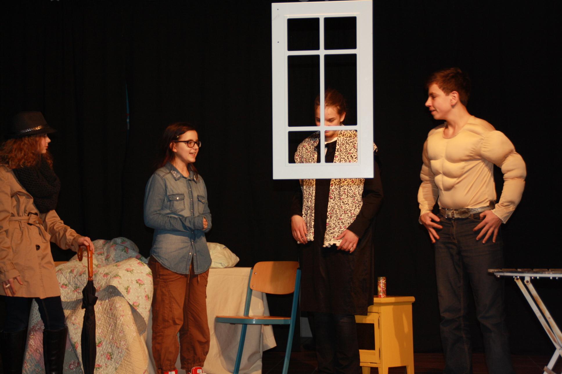 """Im Dezember 2013 gab die Schauspielgruppe des Kinder- und Jugendbüros ihre letzte Vorstellung mit """"Hodder, der Nachtschwärmer"""". Jetzt haben neue Schauspielbegeisterte ihre Chance."""