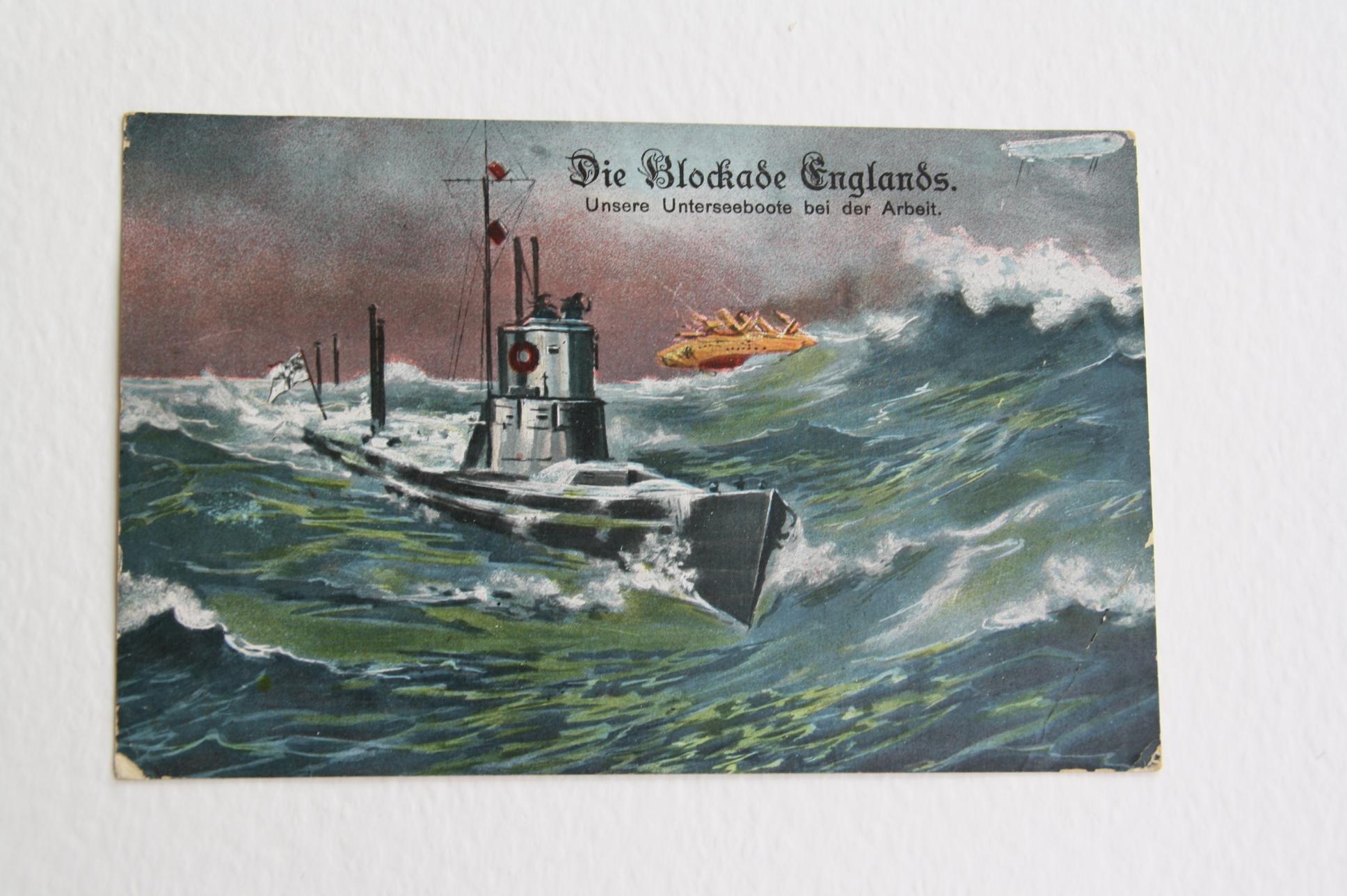 Ein U-Boot im Einsatz.