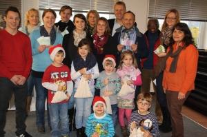 Johannes und Daniele Seeberger spendeten anlässlich ihres 25-jährigen Firmenjubiläums an drei Kitas in Weisendorf und an die in Großenseebach und Hannberg, dazu an den Verein Autismus Mittelfranken.