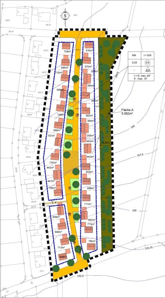"""Bebauungsplan mit integriertem Grünordnungsplan """"Buch-östlich der Hopfenleithe"""""""