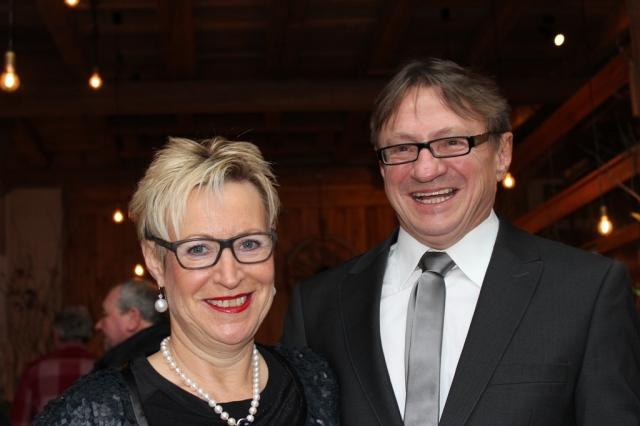 Peter Brehm mit Ehefrau Elfriede