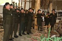 Das Jagdhornbläsercorps Herzogenaurach gab bei der Museumskerwa sein Einstandskonzert, da die Kreisjägerschaft mit einer eigenen Jagdausstellung Mitglied im Heimatverein geworden ist.