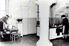 Die Schlossküche wurde in den 1950er-Jahren für die Altersheimbewohner gebraucht